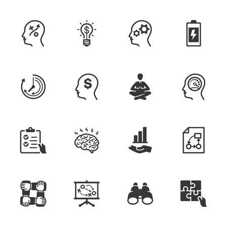 Productivity Improvement Icons - Set 2