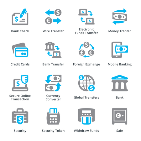 Personal & Business Finanzen Icons Set 3 - Sympa Serie