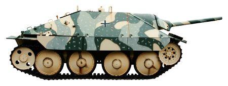 destroyer: The Jagdpanzer 38 or Hetzer a German light tank destroyer of the Second World War