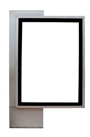 blank billboard: Leere billboard