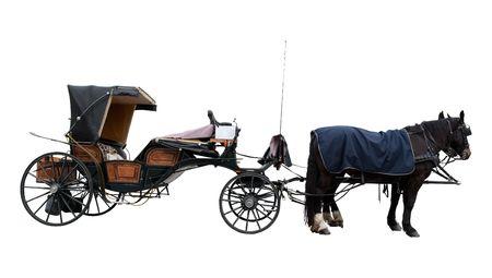 Ancien entraîneur de cheval prêt pour le lecteur
