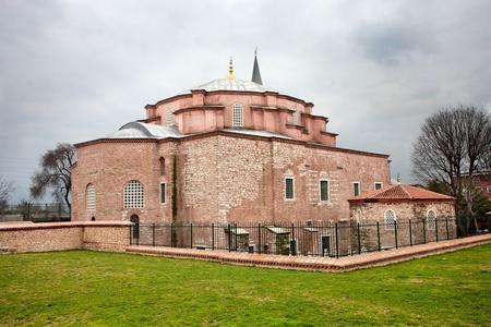 constantinople: Little Hagia Sophia in Istanbul, Turkey.
