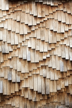 wall covering: Weathered wooden shingles texture