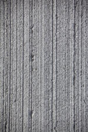 uneven: Grey striped concrete texture Stock Photo