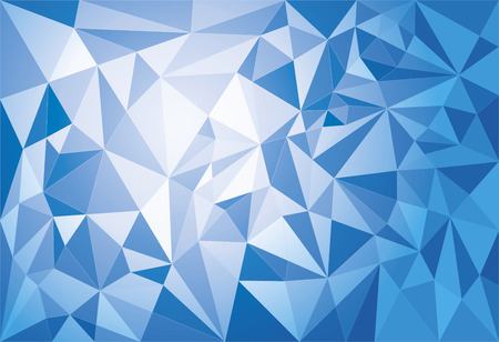 Abstract modern geometric polygonal background. Duotone EPS 10 file for easy editing. Illustration