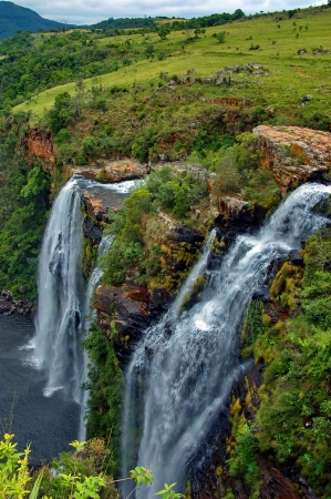 Lisbon waterfall. Blyde river, Mpumalanga, Drakensberg, South Africa photo