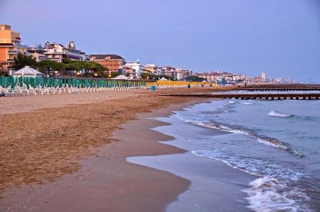 di: Lido di Jesolo, Adriatic sea, Italy, venetian Riviera