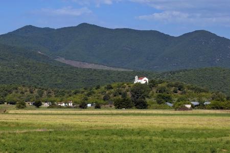 kerkini: Monastery in mountain by Kerkini lake in nord Greece