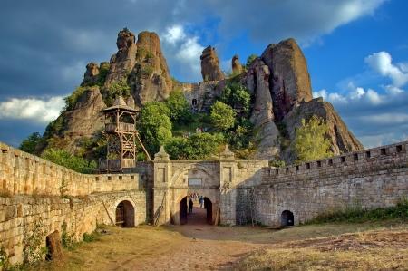 bulgaria: Belogradchik rocks Fortress, Bulgaria, Europe Editorial