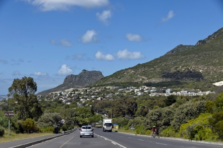 table mountain national park: Scenic road Victoria, Cape town, Table Mountain National Park, South Africa