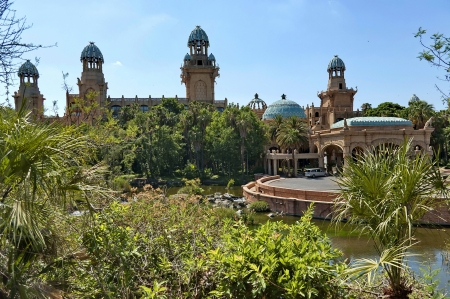 lost lake: Palace of the Lost City hotel in Sun City, South Africa Editorial