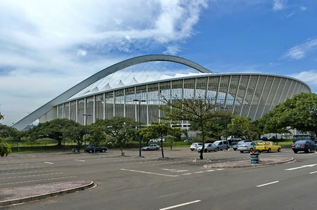 mabhida: South Africa Moses Mabhida soccer stadium in Durban