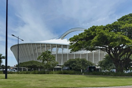 stadium  durban: South Africa Moses Mabhida soccer stadium in Durban