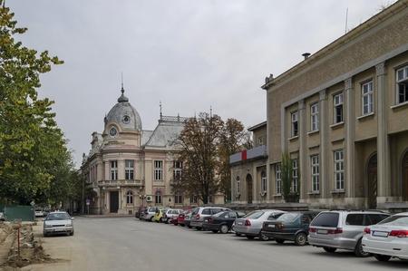 garret: City library Luben Karavelov in Ruse town, Bulgaria