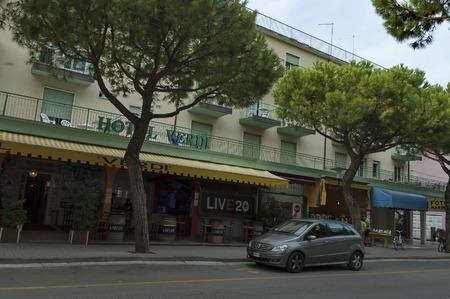 lido: Hotel Verdi in Lido di Jesolo resort, Italy