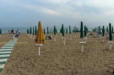 riviera: Lido di Jesolo, Adriatic sea, venetian Riviera, Italy