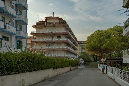 lido: Lido di Jesolo, Adriatic sea, venetian Riviera, Italy