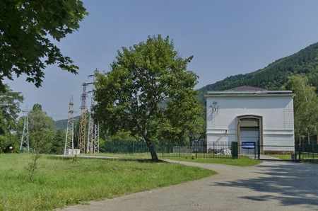powerplant: First hydroelectric power-plant in Sofia area, Bulgaria - VEZ Kokaliane