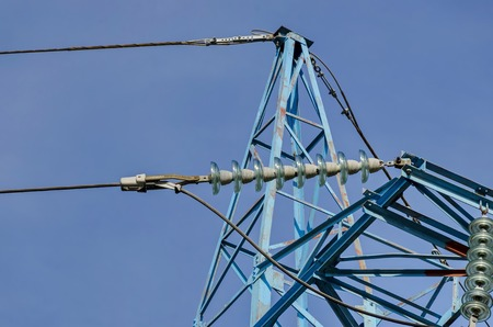 energia electrica: Higher part of electric power transmission line, Sofia