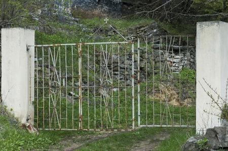monastery: Gateway to Buhovo monastery