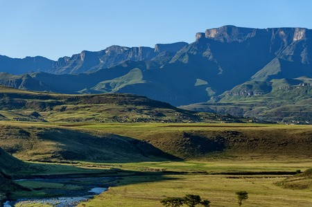 Royal Natal National Park in Drakensberg mountain, South Africa Stock Photo