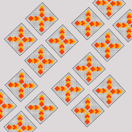 grey pattern: Boxes Pattern Abstract Background Grey
