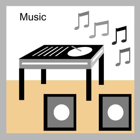 sound system: DJ Sound System Stock Photo