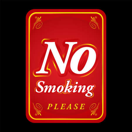 sophisticated: Sophisticated No Smoking Sign
