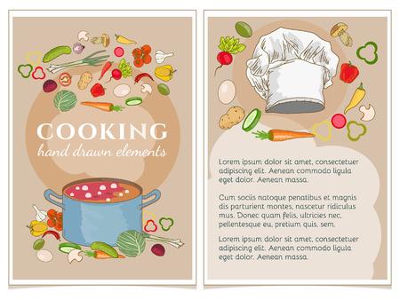 cookbook: Cookbook vector illustration