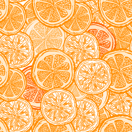 fruit orange seamless agrumes vintage background