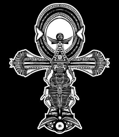 Religious Sign Of The Ancient Egyptian Cross Ankh A Symbol