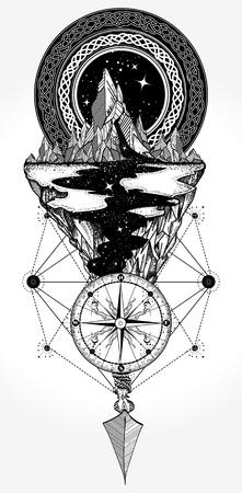 Avontuur ontwerp vector illustratie