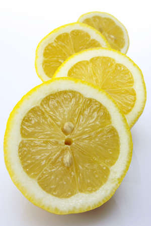 Lemon slices, close-up Stock Photo - 23583632