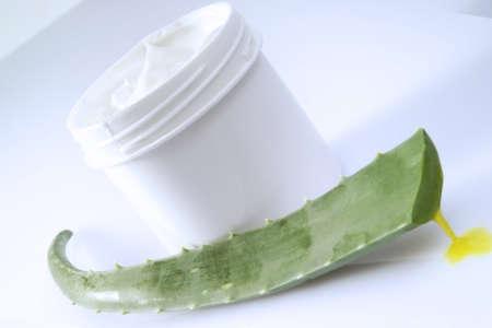 aloe barbadensis: Aloe Vera Cream