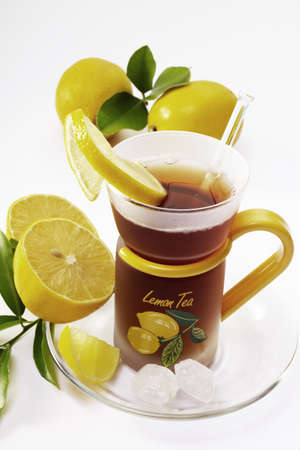 lemon tea Stock Photo - 23583691
