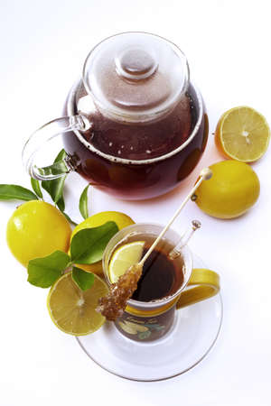 lemon tea Stock Photo - 23707335