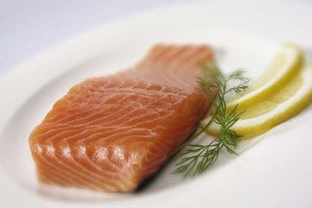 seafish: raw salmon