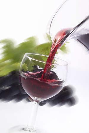 and grape juice: red grape juice