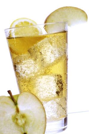 citrons: Apfelsaftschorle, apple juice
