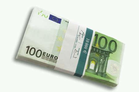 billets euros: 100 billets en euros