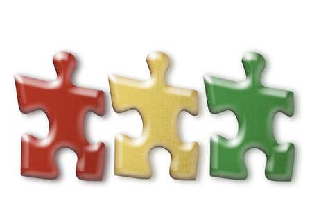 juxtaposing: Puzzle pieces