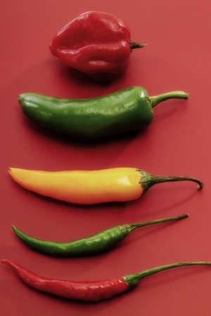 juxtaposing: Chilies