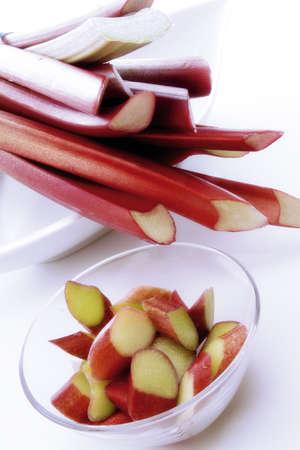 rheum: rhubarb Rheum officinale
