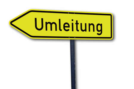 prohibitions: Umleitung, bypass traffic post