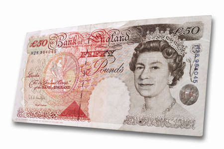 fifty: 50 British Pound LANG_EVOIMAGES