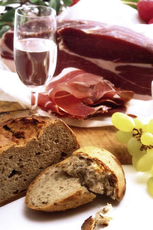 foodstill: Grappa and ham