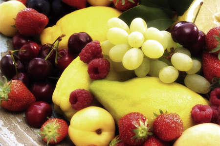 citrons: Varied fruits, close up LANG_EVOIMAGES
