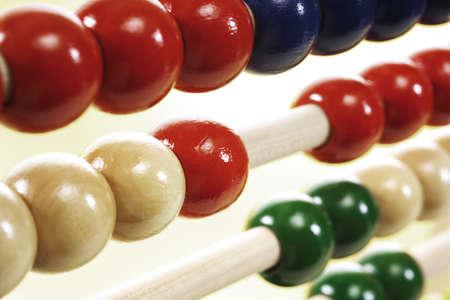 juxtaposing: Abacus, close-up
