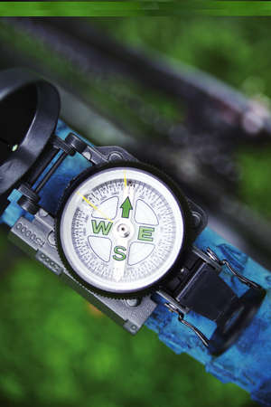 orienting: The bikers compass