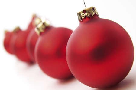 juxtaposing: Christmas baubles